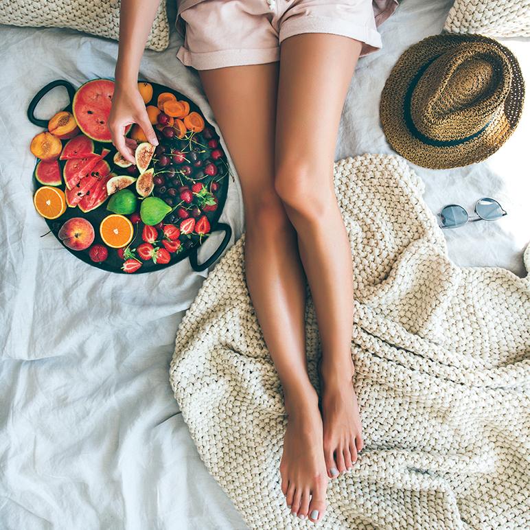 Alimentação-no-verão